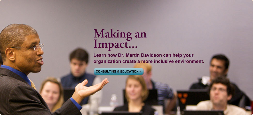 Teaching & Education by Dr. Martin Davidson