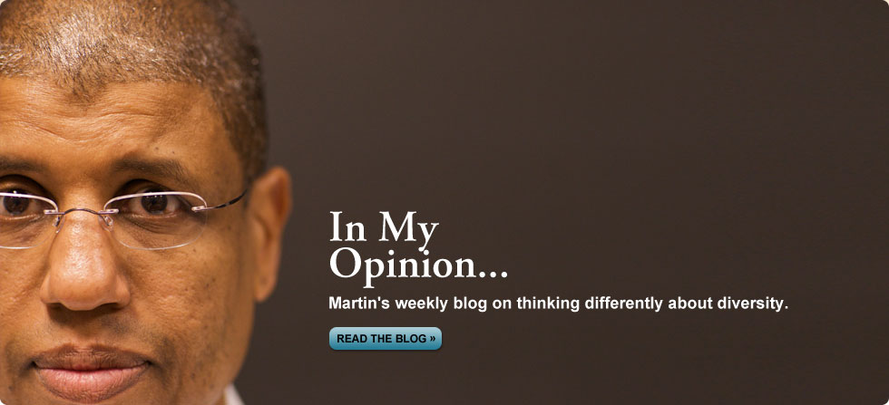 In My Opinion - a Blog by Dr. Martin Davidson